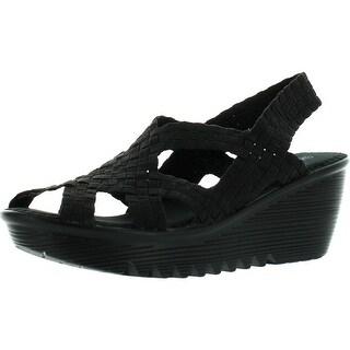 Bernie Mev Womens Contour Wedge Sandals