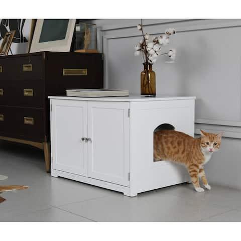 Kitty Litter Loo Bench