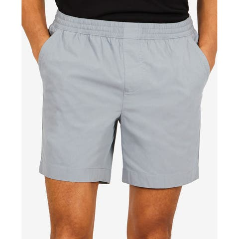 Nautica Gray Mens Size XL Boardwalk Active Stretch Flat Front Shorts