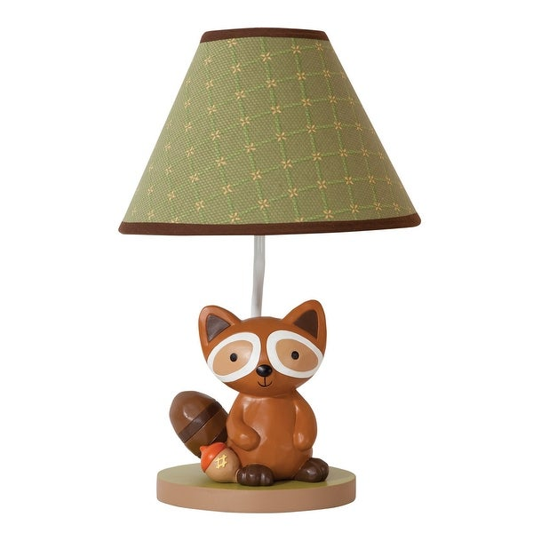 Shop Lambs Amp Ivy Echo Green Brown Woodland Forest Raccoon