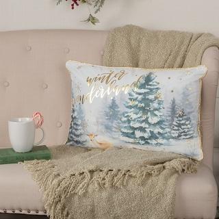 Winter Wonderland Pillow 14x22
