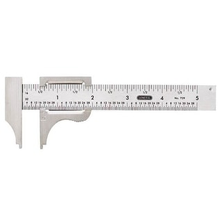 General Tools 729 Slide Caliper, 4""
