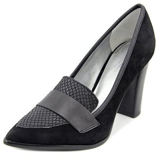 Tahari Aimee Women Pointed Toe Suede Heels
