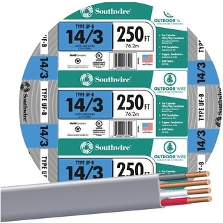 Southwire 250 14-3 Ufw/G Wire