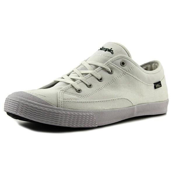 Simple Wingman Men Canvas White Fashion Sneakers