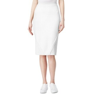RACHEL Rachel Roy Knit Pull On Pencil Skirt - M