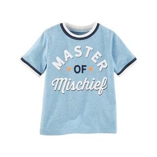 OshKosh B'gosh Little Boys' Master of Mischief Tee, 4-Toddler - 4T