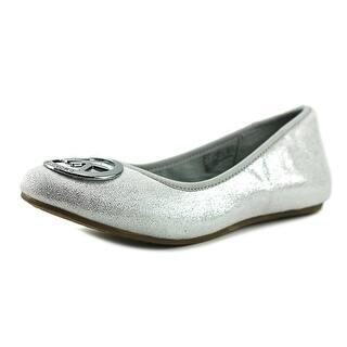 Michael Michael Kors Faye Ria Round Toe Synthetic Flats https://ak1.ostkcdn.com/images/products/is/images/direct/2b77b62355d137e11e448d8382136bd45c2d08c8/Michael-Michael-Kors-Faye-Ria-Youth-Round-Toe-Synthetic-Silver-Flats.jpg?impolicy=medium