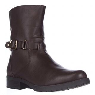 Anne Klein Crayton Mid-Calf Fasion Boots - Dark Brown