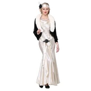 1920s Socialite Plus Size Womens Costume