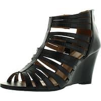 Bonnibel Trina-1 Womens Strappy Back Zip Wedge Sandals