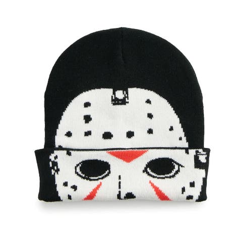 Friday the 13th Jason Voorhees Rolldown Beanie