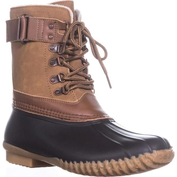 JBU by Jambu Lined Rain Boots, Brown/Whiskey - 8.5 us / 39.5 eu