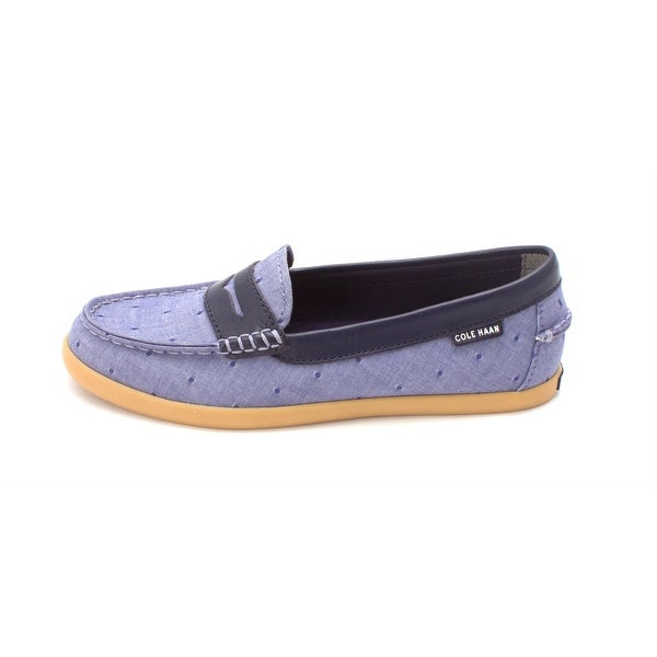 Cole Haan Womens W03173 Canvas Closed Toe Loafers - 6