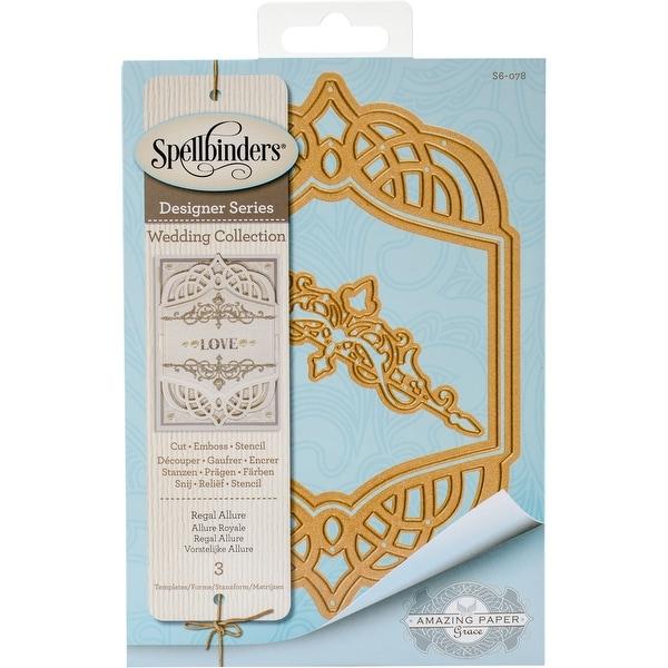 Spellbinders Nestabilities Dies-Regal Allure