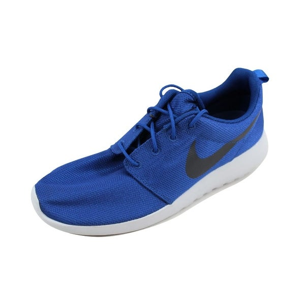 fd32b163372c Shop Nike Men s Roshe One Gym Blue Anthracite 511881-417 Size 12 ...