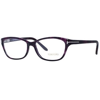 Tom Ford TF 5142 083 54mm Violet Women's Rectangular Eyeglasses - 54mm-15mm-135mm