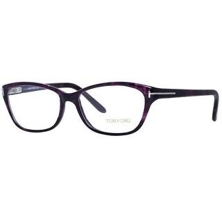 Tom Ford TF5142 083 54mm Violet Women's Rectangular Eyeglasses - 54mm-15mm-135mm