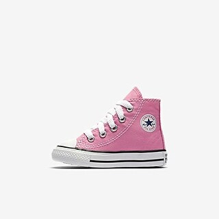 Converse Baby Girls' Infant Chuck Taylor All Star Hi Top - Pink - 2 Infant