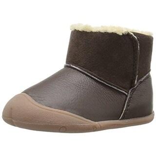 Carters Bucket Boots Infant Girls Faux Fur Lined - 2 medium (b,m)
