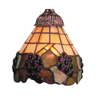 Landmark Lighting 999-07 Tiffany Single Replacement Shade from the Mix-N-Match C