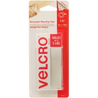 """Velcro(R) Brand Removable Mounting Tape Roll 18""""X.75""""-Holds Up To 5Lbs"""