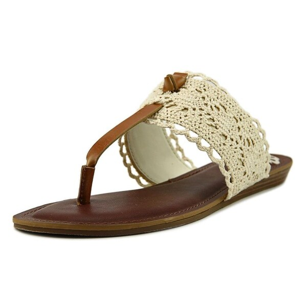 Fergalicious Stella Women Open Toe Canvas White Slides Sandal