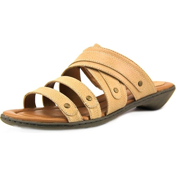 Ariat Layna Open Toe Leather Slides Sandal