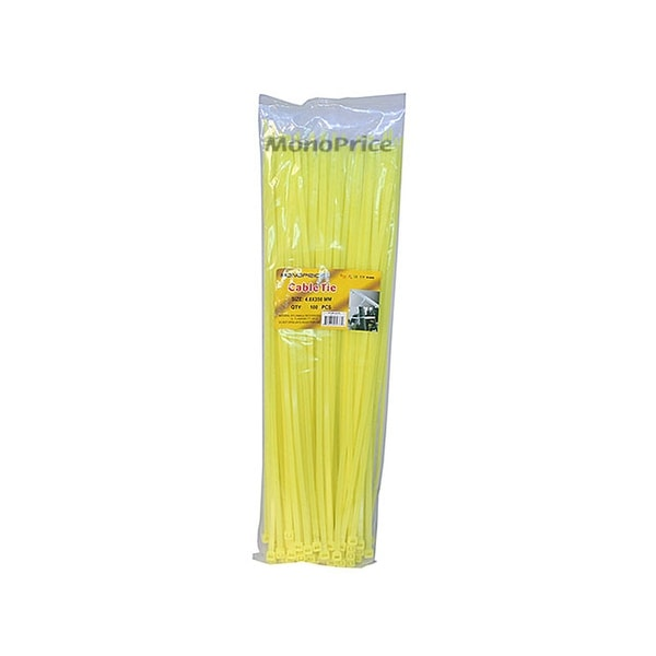 100pcs//Pack Cable Tie 14 inch 50LBS White