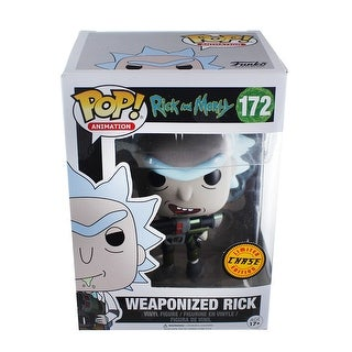 Rick and Morty POP Vinyl Figure: Weaponized Rick Chase Variant - multi