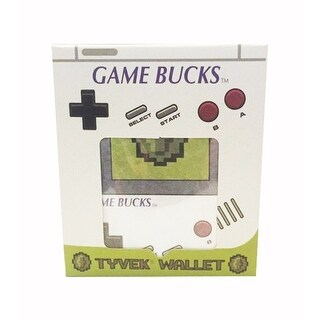 "Nintendo ""Game Bucks"" Tyvek Men's Bi-Fold Wallet - Multi"