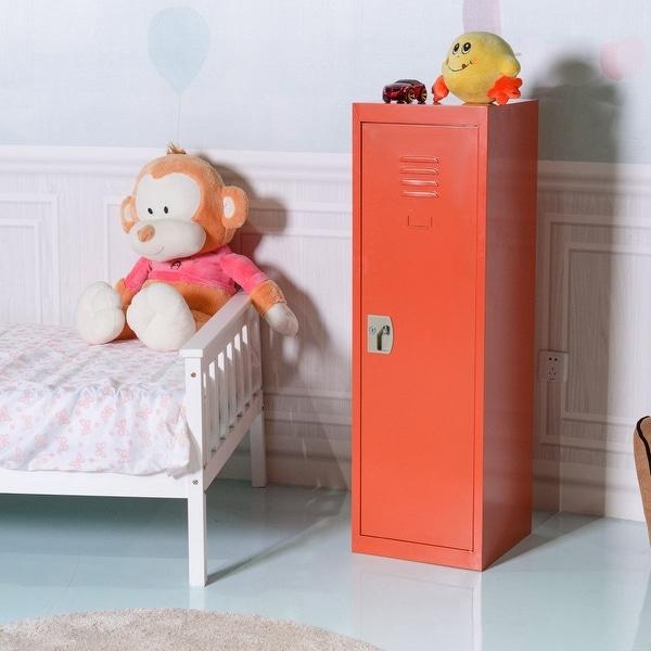 Shop Costway 48 Kid Locker Safe Storage Children Single Tier Metal