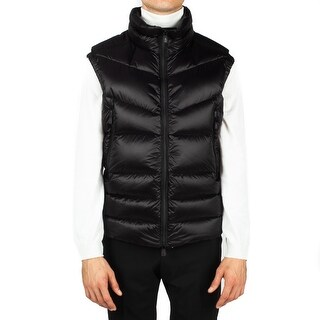 Moncler Men's Padded Down Vest Jacket Black