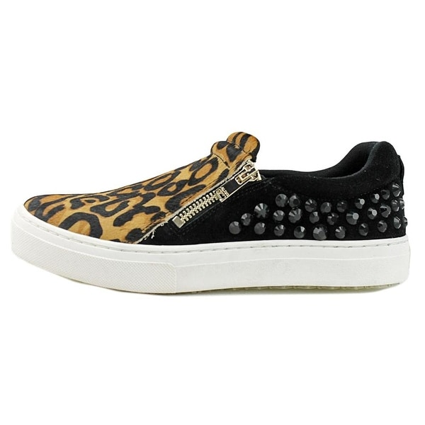 Aldo Womens Grisill Suede Low Top Zipper Fashion Sneakers