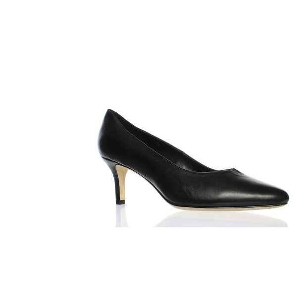 21dd42c5a91 Shop VANELi Womens Linden Black Nappa Pumps Size 9 - On Sale - Free ...