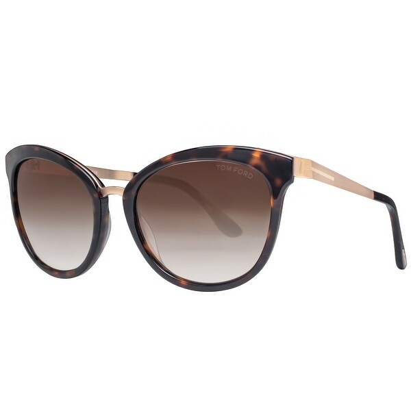 7d2a0c8137 ... Women s Sunglasses     Fashion Sunglasses. Tom Ford Emma TF 461 52G  Gold Havana Brown Gradient Women  x27 s Cat
