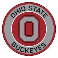 Ohio State University Roundel Mat