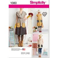 Simplicity Misses' Dress Or Tunic-Xs-S-M-L-Xl