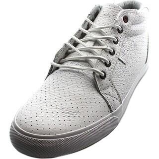 DC Shoes Council Mid LX Men Round Toe Leather White Skate Shoe