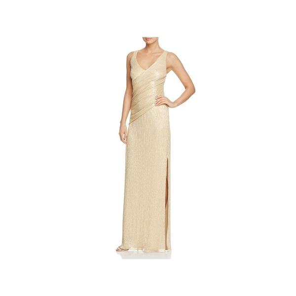 2d58d12b9be2e Laundry by Shelli Segal Womens Evening Dress Full Length Metallic