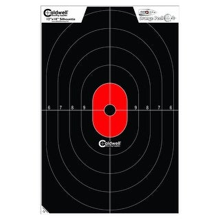Caldwell Silhouette Center Mass Target (8 Pack)