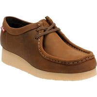Clarks Women's Padmora Moccasin Brown Smooth Leather