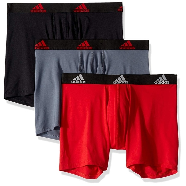 adidas Mens Climalite Trunks Underwear 3 Pack