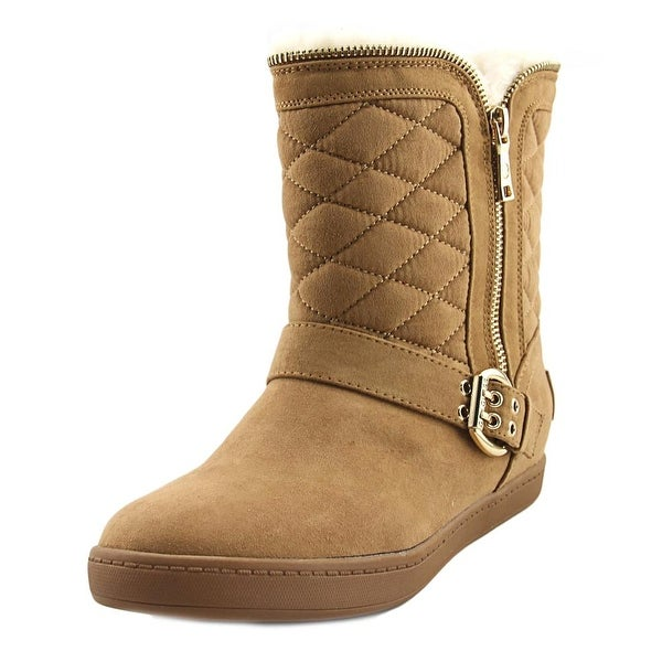 G By Guess Pursy Women Round Toe Synthetic Brown Winter Boot