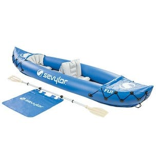 Sevylor Fiji 2-person Kayak Kayak|https://ak1.ostkcdn.com/images/products/is/images/direct/2b8dd2a0a49648d46ea9e79373d40f7a76eb39af/Sevylor-Fiji-2-person-Kayak-Kayak.jpg?impolicy=medium