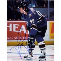 Signed Juneau Joe Washington Capitals 8x10 autographed
