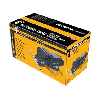 Olympia Tools 38-614 4 in. Mechanics Bench Vise