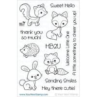 "Woodland Cuties - Your Next Stamp Clear Stamps 4""X6"""