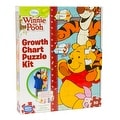 Disney Winnie the Pooh Growth Chart Puzzle Kit - multi-color - 12.0 in. x 2.0 in. x 10.0 in. - Thumbnail 0