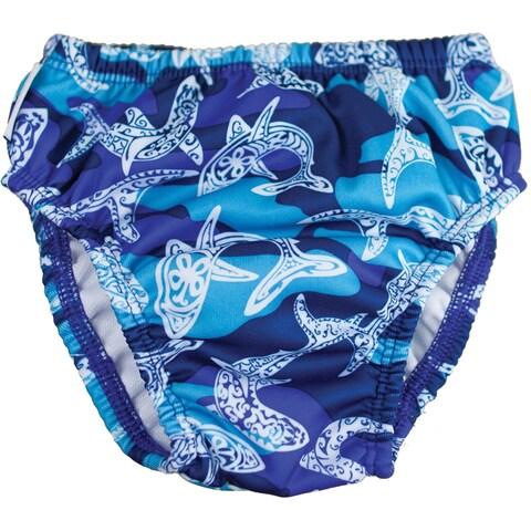 FINIS Reusable Swim Diaper - Shark Camo